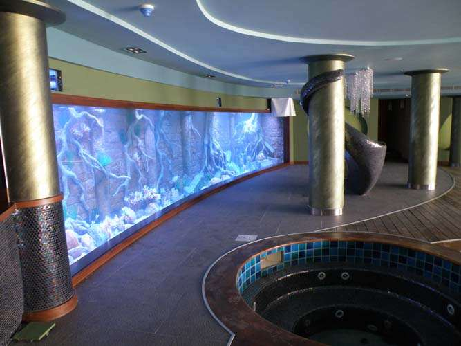 Οικιστικό ενυδρείο θαλασσινού νερού 45.000 λίτρα